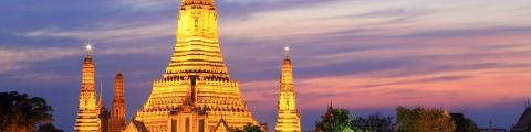 Erreur de prix : Bangkok au départ de Paris pour 256€ AR/pers