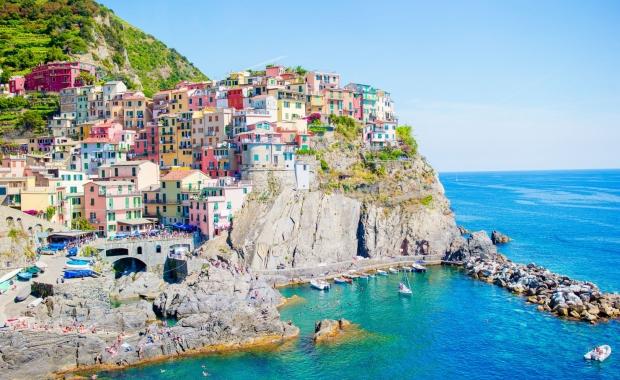 Cinque Terre, Italie : circuit 8j/7n en hôtels + entrées des sentiers + trains