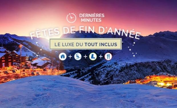 Fêtes de Fin d'Année : 8j/7n en résidences dans les Alpes, forfait inclus