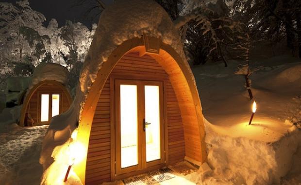 Pyrénées :  combiné 3j/2n en appart'hôtel et igloo/snow pod + 1 dîner