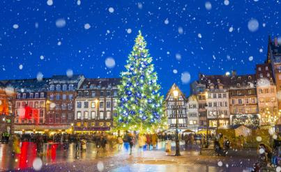 Vacances de Noël : week-ends 2j/1n en France en hôtels 4* + petit-déjeuner