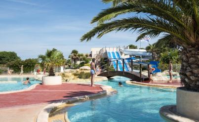 Languedoc, camping 4* :  8j/7n en mobil-home + parc aquatique