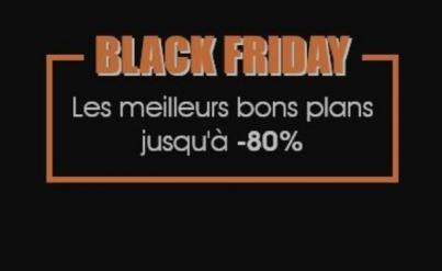 Black friday : promos jusqu'à - 80%, jusqu'au 4 décembre