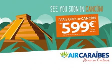 Nouvelle ligne 2020 : direction Cancún !