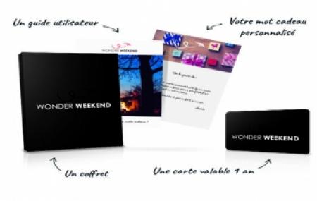 Offrez une carte cadeau Wonder Weekend