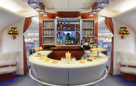Emirates le plus grand restaurant volant du monde