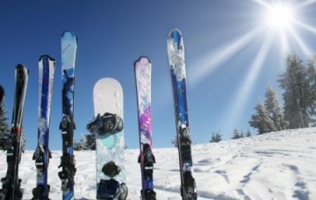 Louer des skis à l'étranger