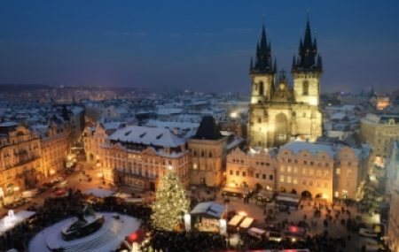 """Pour un week-end """"vols + hôtel"""" à Prague"""
