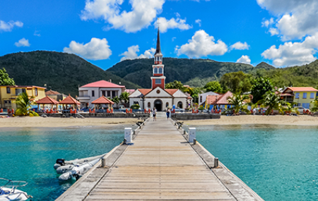 Des vols pas chers vers les Antilles