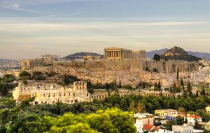 Vols A/R de Bordeaux vers Athènes