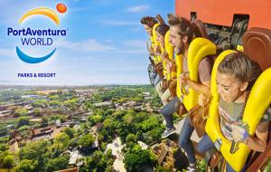 Port Aventura : week-end 2j/1n en hôtel + entrées aux parcs Port Aventura et Ferrari Land