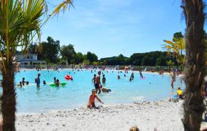 Languedoc, camping 4* : 8j/7n en mobil-home + parc aquatique - Remboursement garanti