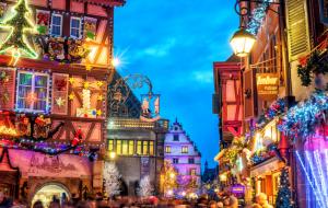 Alsace, marchés de Noël : week-end 2j/1n ou plus en hôtel ou résidence + petit-déjeuner, - 38%
