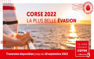 Corse, ferry : ouverture des vente 2022, traversées Corse ↔ continent