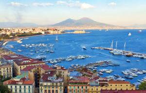 Naples : week-end 3j/2n en hôtel  bien situé + petits-déjeuners
