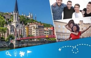 Lyon, urban games : chasse au trésor, rallye, jeu de pistes...