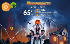 PortAventura World, Halloween : week-end 2j/1n en hôtels du Parc + accès aux 2 parcs