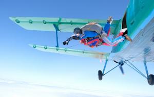 Parachutisme : sauts en tandem, Alpes, Aquitaine, Occitanie, Picardie...