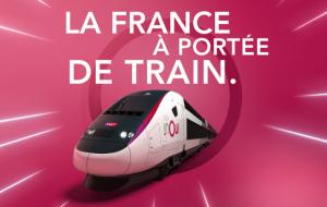 TGV INOUI : trajets à petits prix, Paris Marseille, Nantes, Toulouse…