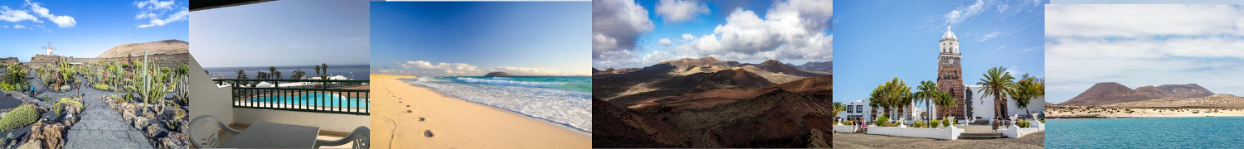 Canaries, Lanzarote : séjour 8j/7n en appart'hôtel vue mer + vols A/R