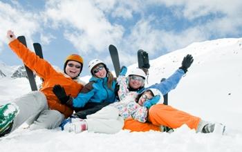 Les grandes capacités pour skier en tribu !