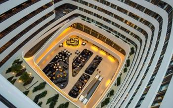 Nouvel Hilton à l'aéroport d'Amsterdam