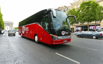 Eurolines lance les trajets en France Isilines