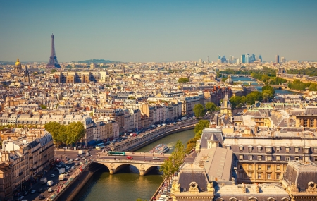 Vol A/R de Nice vers Paris
