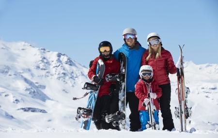 Ski en famille : locations 8j/7n avec forfait, Alpes & Pyrénées