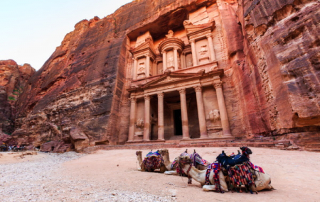 Jordanie : circuit en bus 8j/7n en hôtels, pension-complète + vols & transferts