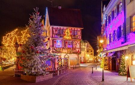 Colmar, marché de Noël : week-end 2j/1n en hôtel 4* + petit-déjeuner, - 23%