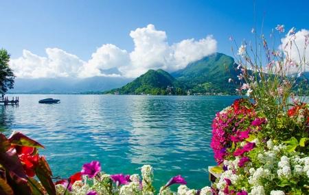 Lac d'Annecy : enchère, 8j/7n en camping au bord du lac, dispos fin d'été