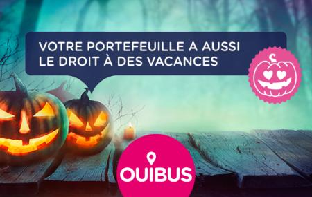OUIBUS : Réservez dès maintenant vos vacances de la Toussaint à petits prix !