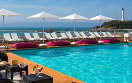 Biarritz : vente flash week-end 2j/1n en hôtel 5* + petit-déjeuner & accès spa, - 50%