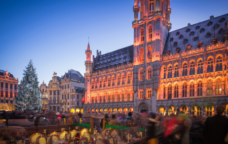 Bruxelles : vente flash, dispos Marché de Noël, week-end 2j/1n en hôtel 5*, - 80%