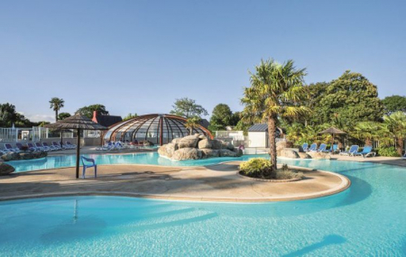 Bretagne, camping 5* : 8j/7n en cottage + parc aquatique  - Remboursement garanti, - 45%