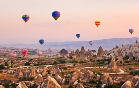 Turquie : circuit 10j/9n en hôtels 4 ou 5*+ pension  + excursions & vols