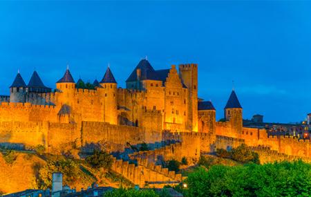 Carcassonne : 2j/1n ou plus en hôtel 5* + petit-déjeuner, dispos 1er et 11 novembre, - 64%