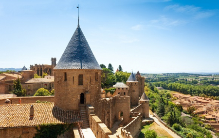 Carcassonne : vente flash, week-end 2j/1n en hôtel 5* + petit-déjeuner , - 80%