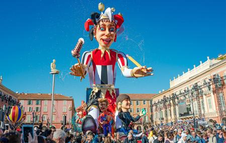 Nice, Carnaval de Nice : week-end 2j/1n en hôtel 4* + petit-déjeuner, - 30%