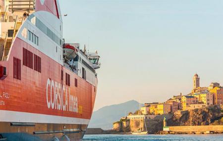 Corse, ferry, première minute été : traversées Marseille > Ajaccio, Bastia, Porto-Vecchio