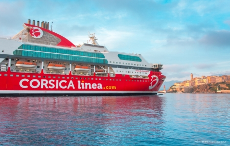 Corse, ferry : été, traversées Corse ↔ Continent