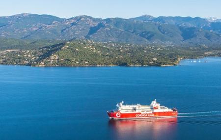 Corse, été 2019 : traversées en ferry Marseille ↔ Ajaccio, Bastia, Porto-Vecchio, Île Rousse