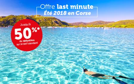 Corse : offres promos dernière minute pour vos traversées en ferry