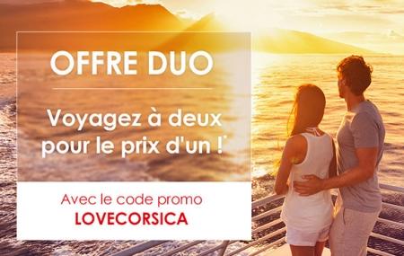 Corse, Ferry : traversées offre duo, voyagez à 2 pour le prix d'1 !