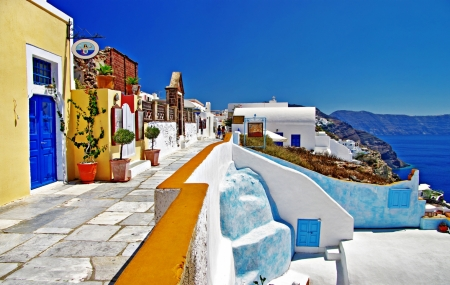 Grèce : combiné Athènes & Santorin, 8j/7n en hôtels + vols