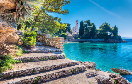 Croatie : séjour 8j/7n en hôtel 4* bord de mer, petits-déjeuners + vols