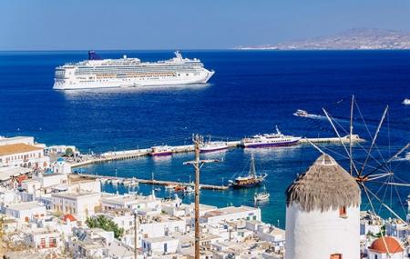 Croisières + vols & extension hôtel : 10 jours ou plus, Venise, Majorque, Caraïbes, Fjords...
