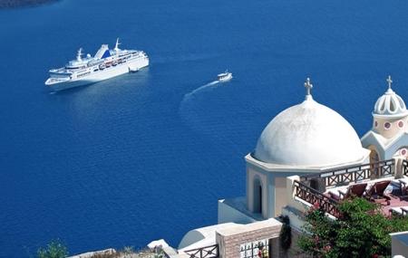 Îles Méditerranée : croisières 5 jours ou +, Baléares, Malte, Corfou, Corse, Santorin...