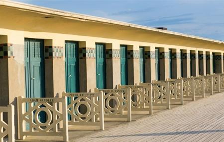Deauville : week-end 2j/1n en hôtel 4* + petit-déjeuner